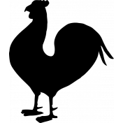 Homestead Stamps- Chicken Stamp