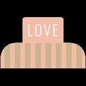 The Good Life: May 2019 Words & Tags Kit- love