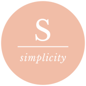 The Good Life: May 2019 Words & Tags Kit- simplicity