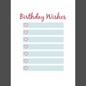 Journal Card Templates Kit #2- L 3x4