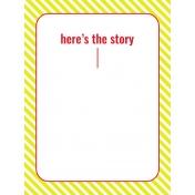 Journal Card Templates Kit #2- M 3x4