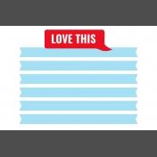 Journal Card Templates Kit #2- q 4x6