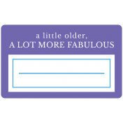 Birthday Words & Tags Kit: more fabulous