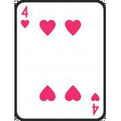 Birthday Pocket Cards Kit #2: Playing Card 04