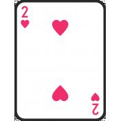 Birthday Pocket Cards Kit #2: Playing Card 02