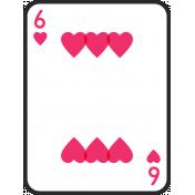 Birthday Pocket Cards Kit #2: Playing Card 06