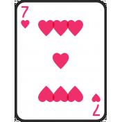 Birthday Pocket Cards Kit #2: Playing Card 07