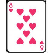 Birthday Pocket Cards Kit #2: Playing Card 08