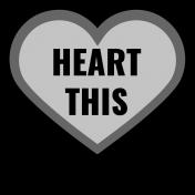 Templates Grab Bag Kit #22- Layered Heart This Template