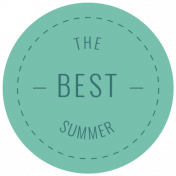 The Good Life: July 2019 Words & Tags Kit- the best summer