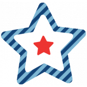 Americana Elements- Print Star 2