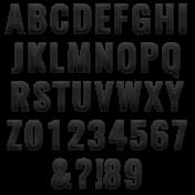 Alpha Template Kit #20 Stitched