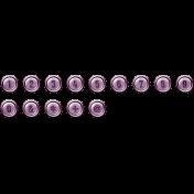 The Good Life - September 2019 Alphas - Alpha Chrome Purple Numbers
