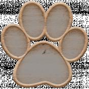 Templates Grab Bag Kit #23: wood paw template