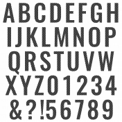 Alpha Template Kit #38: Alpha 38 Print Template