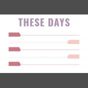 The Good Life- September 2019 Pocket Cards- Card 12 4x6