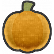 October 31 Elements Kit- puffy pumpkin