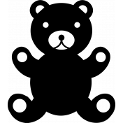 The Good Life: October 2019 Stamps Kit- icon teddy bear template