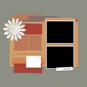 Layout Templates Kit #50- Layout Template 50d
