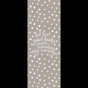 The Good Life: November 2019 Journal Me Kit- Cozy List 3x8