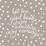The Good Life: November 2019 Pocket Cards Kit- cozy list 4x4