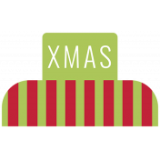 The Good Life: December 2019 Christmas Labels & Words Kit- Label xmas