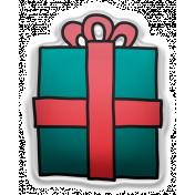 Deck The Halls Elements Kit #2- sticker gift 1