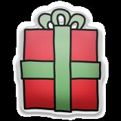 Deck The Halls Elements Kit #2- sticker gift 2