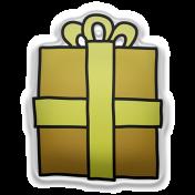 Deck The Halls Elements Kit #2- sticker gift 3