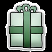 Deck The Halls Elements Kit #2- sticker gift 4