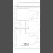 Travelers Notebook Layout Templates Kit #4- d sketch