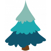 The Good Life- December 2019 Tags & Stickers- Tree 2