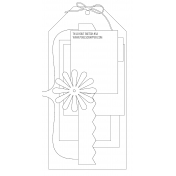 Travelers Notebook Layout Templates Kit #5- layout template 5a sketch