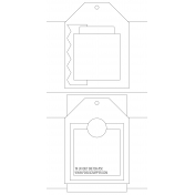 Travelers Notebook Layout Templates Kit #5- layout template 5c sketch