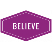 The Good Life- December 2019 Hanukkah Words & Labels- Label Believe