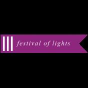 The Good Life- December 2019 Hanukkah Words & Labels- Label Festival of Lights