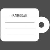 The Good Life- December 2019 Hanukkah Words & Labels- Label Hanukkah 3