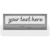 Clear Tabs Kit: clear tab template 1
