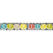 The Good Life: February 2020 Elements Kit - enamel good life