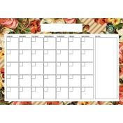 The Good Life - February 2020 Calendars - Calendar A4 Blank 1
