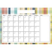 The Good Life - February 2020 Calendars - Calendar A4 Blank 3
