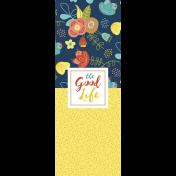 The Good Life - February 2020 Journal Me - Card 04 3x8