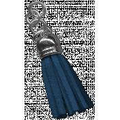 The Good Life: March 2020 Elements Kit- tassel blue