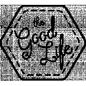 The Good Life: April 2020 Stamps Kit - the good life template