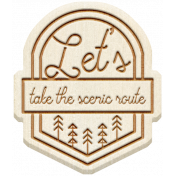 The Good Life: April 2020 Travel Elements Kit- wood take the scenic route