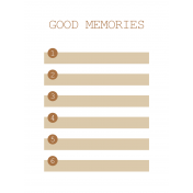 The Good Life- April 2020 Pocket Cards- JC 10 3x4