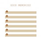 The Good Life- April 2020 Pocket Cards- JC 10 4x4