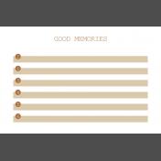 The Good Life- April 2020 Pocket Cards- JC 10 4x6
