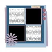 Layout Templates Kit #54- Template 54A