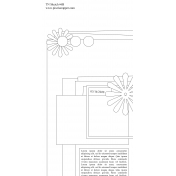 Travelers Notebook Layout Templates Kit #6- Sketch 6b